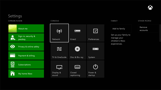 The Painel Connection Xbox